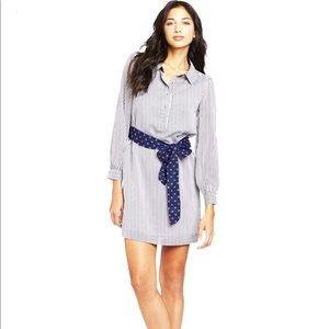 Lilly Pulitzer Railroad Stripe Davie Shirt Dress